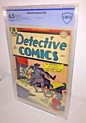 Detective Comics 91 Cbcs 6.5 Off-white To White Pages