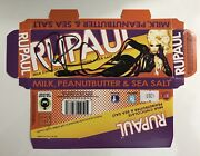 Rupaul Signed Autographed Candy Bar Box With Photo Drag Queen Drag Race