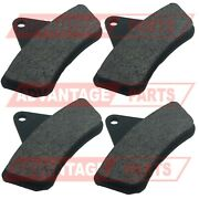Set Of 4 Replacement Brake Pads For Front Disc Brake Conversion Kit