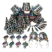 New Years Eve Diamond Party Pack For 100, Party Hats And Supplies, Diamond Theme