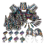 New Years Eve Diamond Party Pack For 100 Party Hats And Supplies Diamond Theme