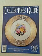 Antique Dealer And Collectors Guide 1997 Eugenie M Valter Paintings Baluchi Rug
