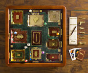 Clue Luxury Edition Wood Wooden Collectorand039s Board Game New Premium Collectible