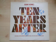 Ten Years After Autogramme Signed Lp-cover Goin`home Vinyl