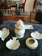 Lenox Small Dishes And Large Candle