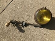 Vintage 1940 50 Unity Accessory Fog Light Lamp Amber Lens Blc Parts Not Working