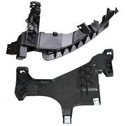 2pcs For Audi A4 S4 13-15 Front Right Headlight Mount Support Plate Bracket