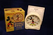 Vintage1948 Ingersoll Mickey Mouse Clock Mint In Box