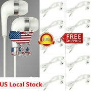 Lot 3.5mm In-ear Earphone Bass Stereo Headphones Headset Earbuds With Microphone