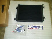 Afco Black Heat Exchanger Double Pass / Intercooler 09-15 Cadillac Cts-v Lsa