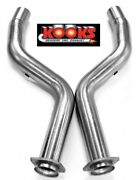 Kooks Ss 3 Offroad Exhaust Pipes 6.2 Supercharged Challenger Charger Hellcat