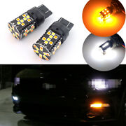 No Hyper Flash Switchback Turn Signal Lights Led Bulbs For 15+ Ford F150 Mustang