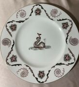 Laurence Whistler Wedgwood Barlaston And039dolphinand039 Plate