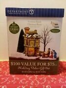 Dept 56 Victorian Family Christmas House Dickens Village Series