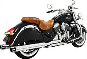 Freedom 4in. Slip On Mufflers Eagle Indian Motorcycle 2014-2019
