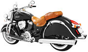 Freedom In00041 4in. Slip On Mufflers Liberty Indian Motorcycle 2014-2019
