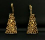 A Pair Of Beautiful Ancient Romanand039s Gold Earrings