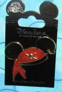 Disney Pin Mickey Mouse Ears Icon Pirates Of The Caribbean Hat Htf Now Last One