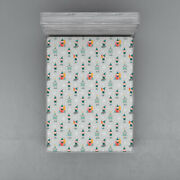 Gnome Fitted Sheet Cover With All-round Elastic Pocket In 4 Sizes
