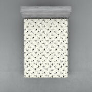 Kites Pattern Fitted Sheet Cover With All-round Elastic Pocket In 4 Sizes