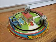 Vintage Tin Wind Up Marx Honeymoon Express Toy Train Made In Usa Tin Toy Lot