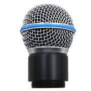 Replacement Wireless Capsule Head For Shure Mic System Sm58 Beta58/58a Pg24