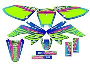 All Years Crf 70 Graphics Kit Crf70 Deco Decals Stickers Pit Bike