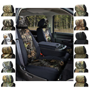 Seat Covers Mossy Oak Camo For Hummer H3 Coverking Custom Fit