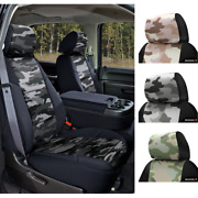 Seat Covers Traditional Military Camo For Toyota Tundra Custom Fit