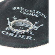 Auth Royal Order Silver 925 Casual Ring Silver 03gb077