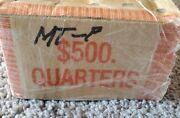 2007- P Mint Montana Uncirculated Box Of 50 Rolls 500 Face Value Free Shipping