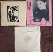 Siouxsie And The Banshees Records 3-12 Uk Ep's Imports 1 Promo 45 Rpm Nice Vinyl