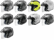 Arai Ram-x Solid Open Face Motorcycle Helmet - Choose Size/color