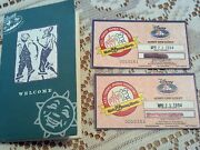 Vintage Rare Disney World-vacation Club Member Tickets And Booklet 1994
