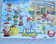 Fisher Price Little People Advent Calendar Christmas Toddler Countdown Unused