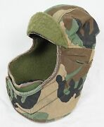 Vintage Military Camo Cold Weather Insulating Helmet Liner 7 1/4 Inches