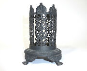 Rare Filigree Bottle Stand Berlin Iron About 1820