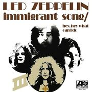 Led Zeppelin Immigrant Song Banner Huge 4x4 Ft Fabric Poster Tapestry Flag Cover