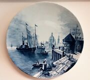 Wall Plate, Villeroy And Boch Mettlach, 5079,about 1880 - 1900 Al870