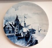 Wall Plate, Villeroy And Boch Mettlach, 5080,about 1880 - 1900 Al871