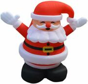 13ft Tall Inflatable Santa Claus Christmas Model Decoration With Air Blower