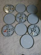 Department Of Defense Dod Military Film Reels Canisters Stamped Secret 1962
