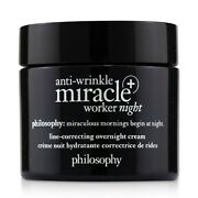 New Philosophy Anti-wrinkle Miracle Worker Night+ Line-correcting Overnight 60ml