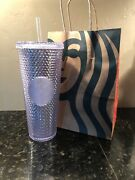 Starbucks Platinum Studded Flashy Chic Tumbler New With Tags Rare Sold Out