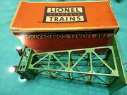 Lionel 395 Green Floodlight Tower With Original Box