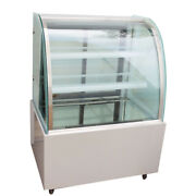 220v Refrigerated Cake Display Cabinet Floor Standing 35.4and039and039new