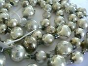 84andrdquo Antique Germany Vintage Silver Christmas Ball Garland