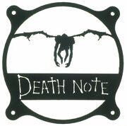 Death Note Style Fan Grill Cover 120mm 140mm 180mm 200mm Custom Pc Mod Case