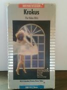 Krokus The Video Blitz-vhs-rock-metal-hard To Find-music Videos-rca Columbia