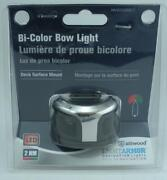 Attwood Nv2002ss-7 Led Bi-color Round Bow Sidelight Stainless St Cover 2nm
